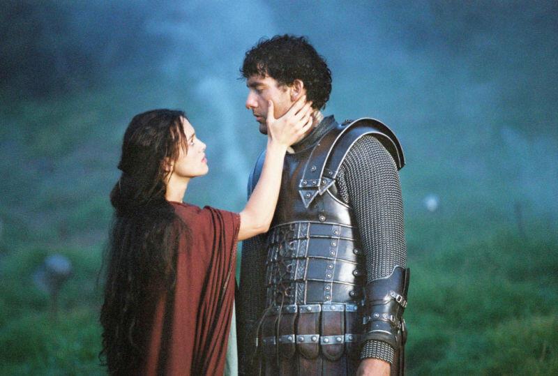 King Arthur mit Keira Knightley und Clive Owen