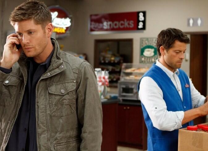 Staffel 9 mit Jensen Ackles und Misha Collins