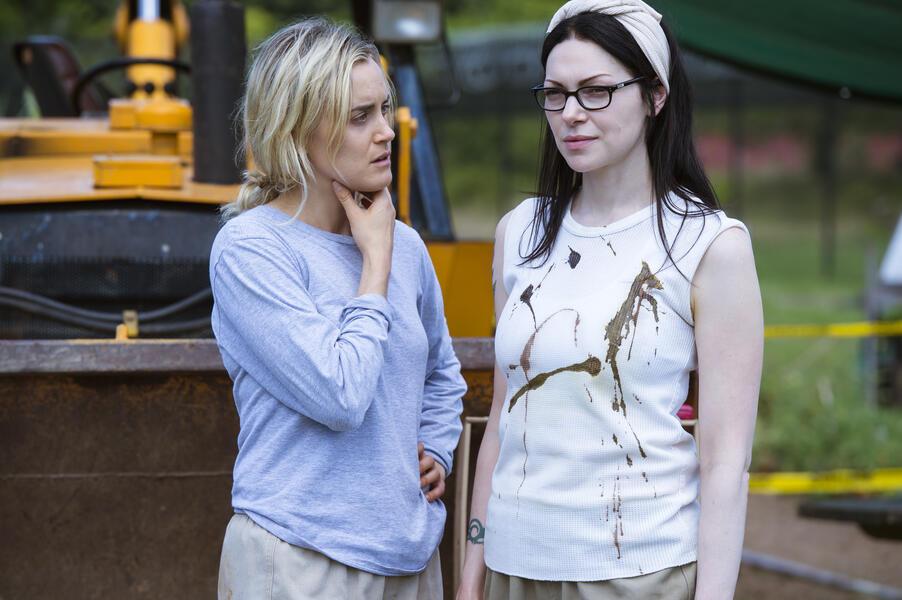 Orange Is the New Black Staffel 5 mit Laura Prepon und Taylor Schilling