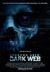 Unknown User: Dark Web Poster