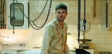 Jeremy Irvine in Treadstone