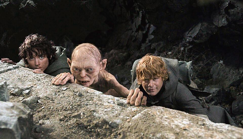 Der Herr der Ringe: Die Rückkehr des Königs mit Andy Serkis, Elijah Wood und Sean Astin