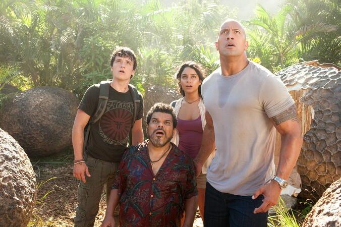 Die Reise zur geheimnisvollen Insel mit Dwayne Johnson, Josh Hutcherson und Luis Guzmán