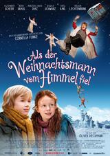 Als der Weihnachtsmann vom Himmel fiel - Poster