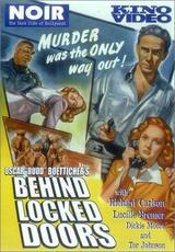 Behind Locked Doors - Poster