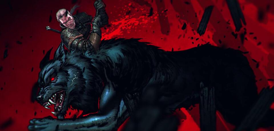 Geralt von Riva macht kurzen Prozess mit Werwölfen und ähnlichem Geschmeiß