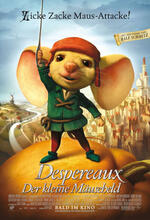 Despereaux - Der kleine Mäuseheld Poster