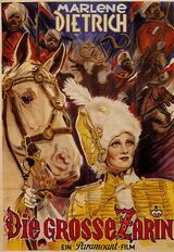 Die scharlachrote Kaiserin - Poster