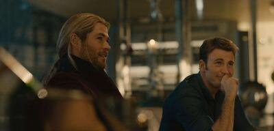 Chris Hemsworth und Chris Evans