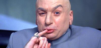 Dr. Evil aus Austin Powers