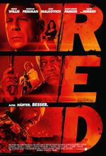 R.E.D. - Älter, härter, besser Poster