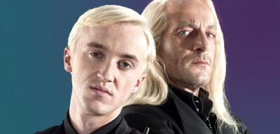 Draco und Lucius Malfoy (Tom Felton & Jason Isaacs)