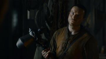 Game of Thrones: Wie der Vater so der Sohn - Gendry mit seinem Kriegshammer