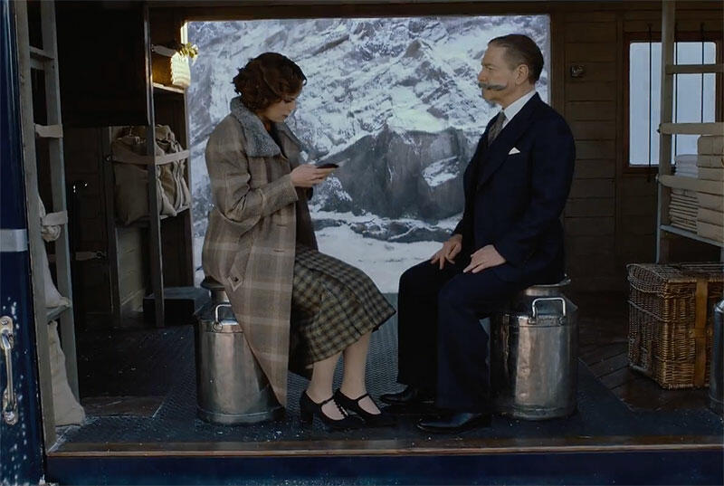 Mord im Orient Express mit Daisy Ridley und Kenneth Branagh