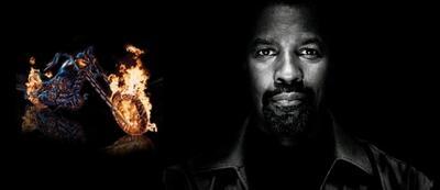 Denzel Washington & der Ghost Rider