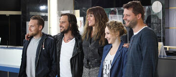 Der Cast von Nicht Mein Tag mit Regisseur Peter Thorwarth