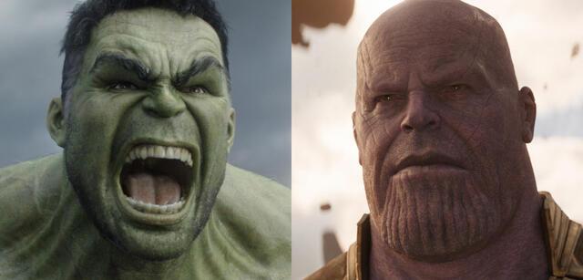 Hulk und Thanos
