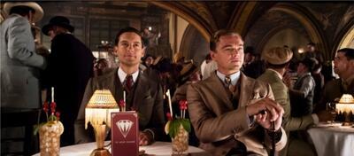 Tobey Maguire und Leonardo DiCaprio in Der Große Gatsby.
