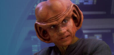 Aron Eisenberg als Nog in Star Trek: Deep Space Nine