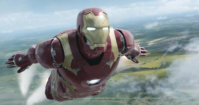"""Iron Man Mark 46 in """"Civil War"""""""