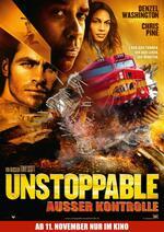 Unstoppable - Außer Kontrolle Poster