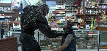 Venom bei der Arbeit