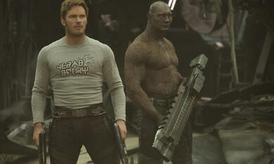 Guardians of the Galaxy Vol. 2 mit Chris Pratt und Dave Bautista - Bild 8
