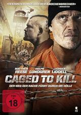 Caged to Kill - Poster