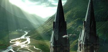 Harry Potter und der Gefangene von Askaban: Hippogreif-Flug über Hogwarts