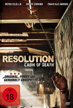 Resolution - Cabin of Death Poster