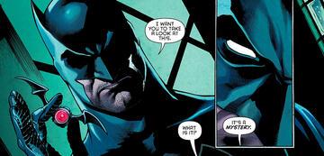 Batman ist einem Mysterium auf der Spur
