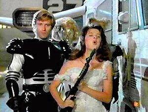 Spaceballs mit Bill Pullman und Daphne Zuniga