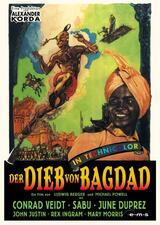 Der Dieb von Bagdad. Ein Märchen aus Tausendundeiner Nacht - Poster