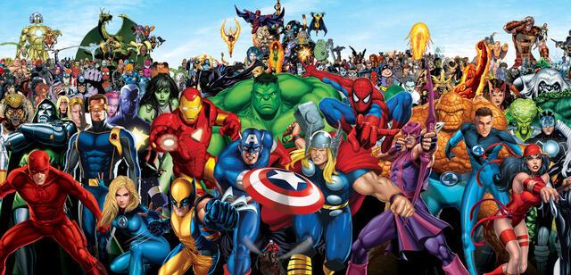 Alle Marvel Helden Liste