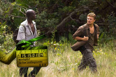 Danny Archer (Leonardo DiCaprio) und Solomon Wendy (Djimon Hounsou) in Blood Diamond
