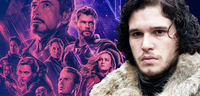 Avengers: Endgame/Kit Harington in Game of Thrones