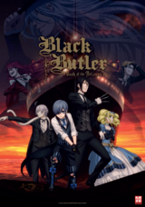 Black Butler - Book of the Atlantic - Poster