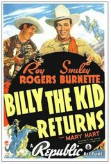Billy the Kid lebt - Poster