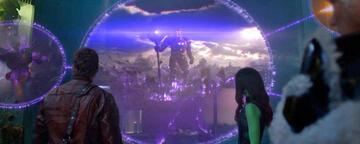 Der erste Blick auf einen Celestial in Guardians of the Galaxy