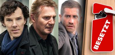 Benedict Cumberbatch in / Liam Neeson in Non-Stop / Jake Gyllenhaal in Source Code