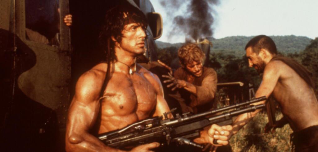 Sylvester Stallone in Rambo 2