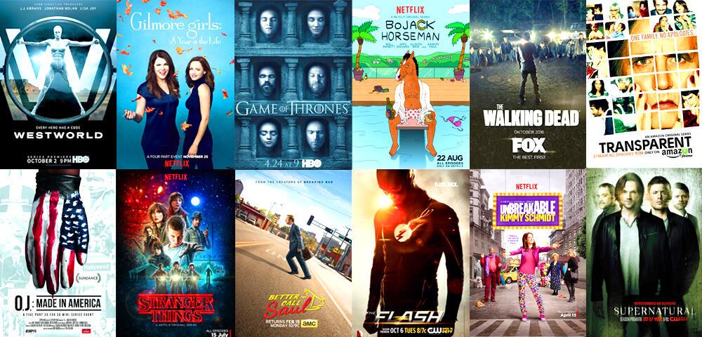 Zeig uns deine Liste mit den 10 besten Serien 2016