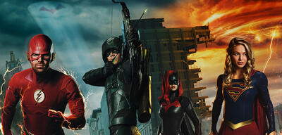 Flash, Green Arrow, Batwoman und Supergirl