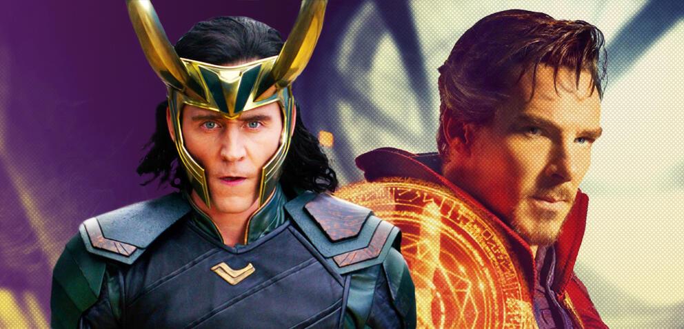 Loki und Doctor Strange