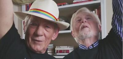 Ian McKellen und Derek Jacobi