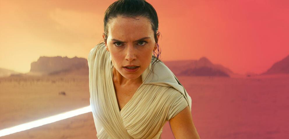 Daisy Ridley als Rey in Star Wars 9: Der Aufstieg Skywalkers