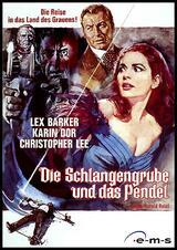 Die Schlangengrube und das Pendel - Poster