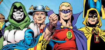 Wird auch auf der Leinwand dabei sein: Die Justice League of America.