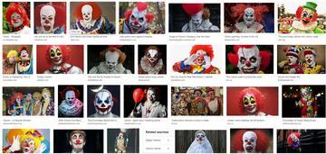 Clowns (ja, links unten ist Donald Trump)