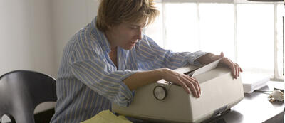 Emma Thompson mit Schreibblockade